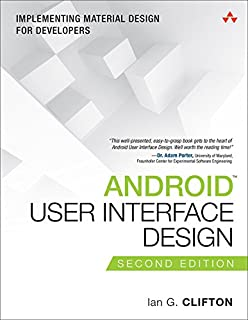 Android User Interface Design: Implementing Material Design for Developers (Usability)