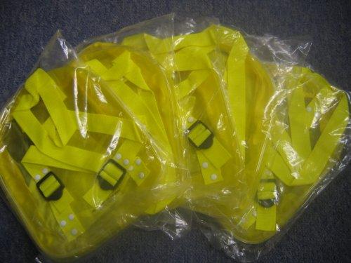 5 x Mini gelb/Rucksack/Rucksäcke Party-Tüten für Kinder
