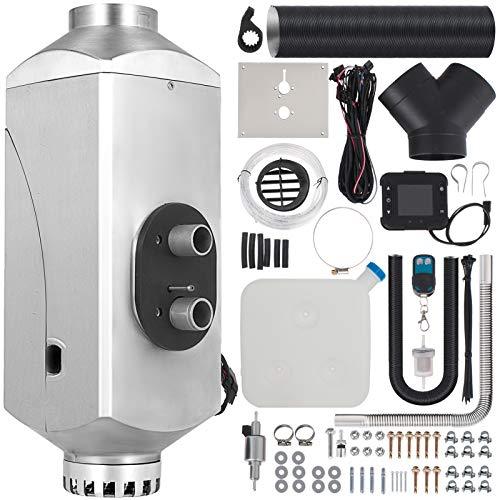 HODOY Riscaldatore digitale 5KW Termostato diesel Riscaldatore elettrico 12V Riscaldatore elettrico a gas per camper Camper e autobus (12V 5KW con telecomando)