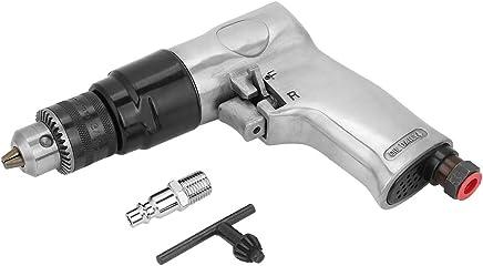 "Broca neumática Broca neumática, 3/8""1700 rpm Alta velocidad Perforación neumática Reversible Herramienta de broca neumática para perforación de orificio"