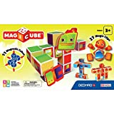 Geomag- MagiCube Robots Juego de Construcción, 38 Piezas, Multicolor (142)