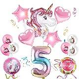 Globos Numeros Gigantes Unicornio,Globo Numero Unicornio,Globo de Cumpleaños Número Unicornio,Globos de Cumpleãnos Unicornio,Cumpleaños Niñas Unicornio,Globos Numeros Gigantes para Fiestas (5)