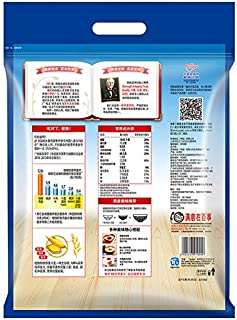 ???QUAKER????? ????????? ???2000g ????????? QUAKER Breakfast Cereal Dietary Fiber Instant Oatmeal Household 2000 g (New and Old Packaging Replacement)