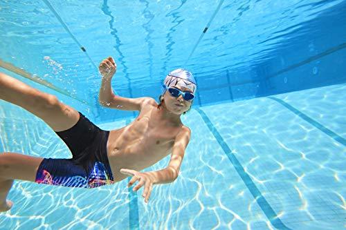 Zoggs Kids' Super Junior Swimming Goggles, Blue/Camo, One Size