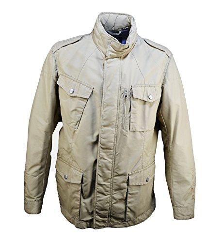 BREMA FieldJacket Uomo Giacca Quattro Tasche Vintage Sabbia (52)