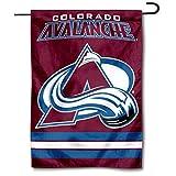 WinCraft Colorado Avalanche Double Sided Garden Flag