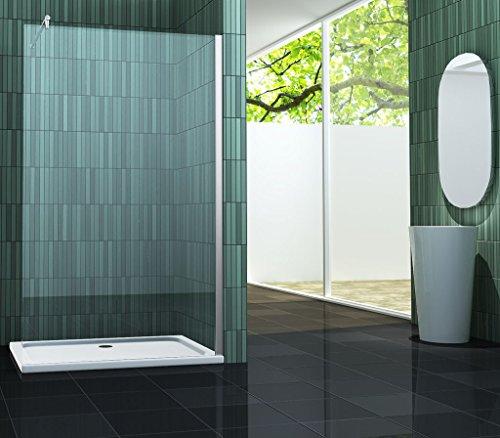 10 mm Duschtrennwand FREE 138 x 220 cm (Sondergröße)