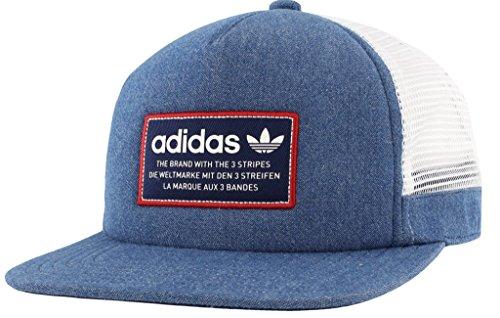 adidas Originals pour Homme Patch Trucker Casquette de Baseball, Homme, Black/White/Onix