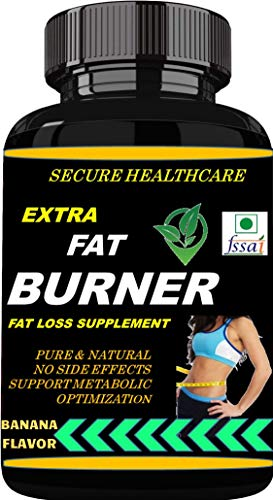 Secure Healthcare Extra Fat Burner | Weight Loss | Banana Flavor 100 gms Powder (Pack Of 1)