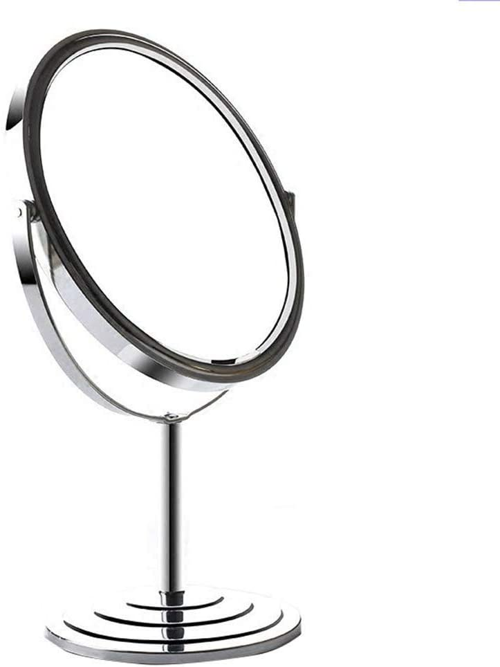 TYUIO 5-Inch Magnifying Max 83% OFF Makeup Mirror Vanity ~ Double Sided Max 46% OFF Tabl