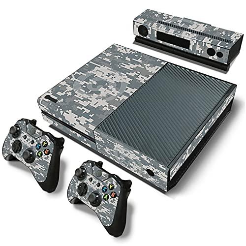 AXDNH Juego Completo De Controladores De Consola Xbox One, Calcomanías De PVC, Pegatinas De Piel, Patrón De Baloncesto, Piel para Consolas Xbox One, Calcomanías De Gamepads para Xbox One,0714