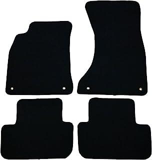 Black Coverking Custom Fit Front Floor Mats for Select Audi A4 Models CFMAX1AU7090 Nylon Carpet