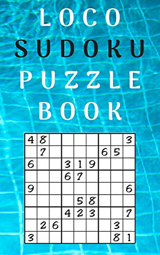 loco sudoku puzzle book: best sudoku puzzle books for adults