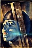 HSE Filmposter Fritz Lang Metropolis 1926, 61 x 91 cm,