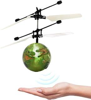 KKPLZZ Dinosaure Induction Helicopter Ball, Dinosaur Induction Helicopter Ball Mini..