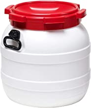 Kanutonne wasserdicht mit rotem Deckel Curtec Weithalsfass 6,4 Liter