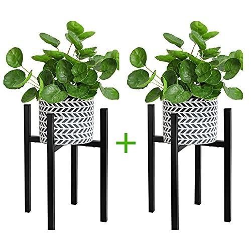 Soporte Ajustable para Plantas, 2 Piezas Soporte para Macetas Moderno Soporte para Exhibición de...