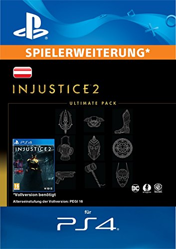 Injustice 2 Ultimate Pack Edition DLC [PS4 Download Code - österreichisches Konto]