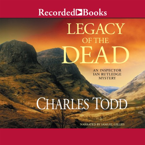 Legacy of the Dead audiobook cover art
