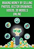 Making Money By Selling Photos, Vector Drawings, Videos, 3D Models Online (English Edition)