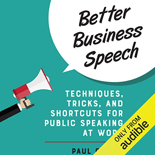 Better Business Speech  By  cover art