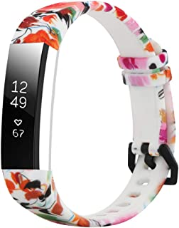 Tkasing for Fitbit Alta HR Bands and Fitbit Alta Bands, Adjustable Soft Silicone Sports Replacement Accessories Bands for Fitbit Alta HR/Fitbit Alta