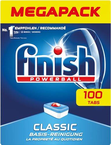 Calgonit 4X Finish Classic Megapack Powerball-Tabs