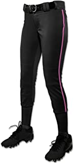 CHAMPRO Youth Tournament Low Rise Piped Fastpitch Softball Pant