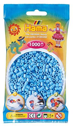 Hama Beads - Pastel Blue (1000 Midi Beads)