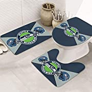 THICK MEMORY FOAM: This Seattle Seahawks bath blanket is designed just for football fans, cushioning memory foam forms your body shape, gives you unique extra support, helps relieve aching muscles, and gives you the feeling of stepping on clouds. Thi...