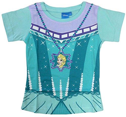 Disney Frozen Elsa Disfraz Camiseta (4-5 aos)