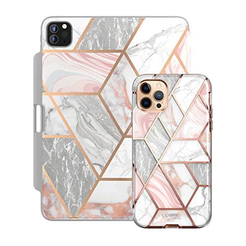 i-Blason Cosmo Pink Paired Bundle - iPhone 12 Pro Max, 6.7' & iPad Pro 12.9' Case