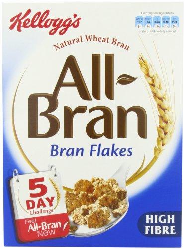 Kellogg's All-bran Flakes 500 g (6 stück packung)