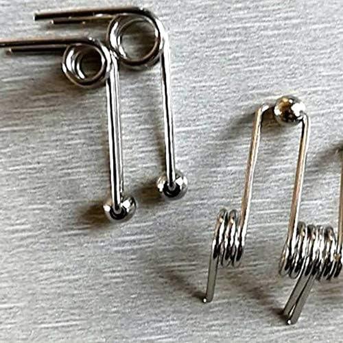 mm Longitud de 3 mm de di/ámetro x 25 mm de Alambre Exterior Di/ámetro X F-MINGNIAN-SPRING 1pc del Metal del Acero Retroceso Muelles de compresi/ón 80-150 tama/ño : 120mm Length