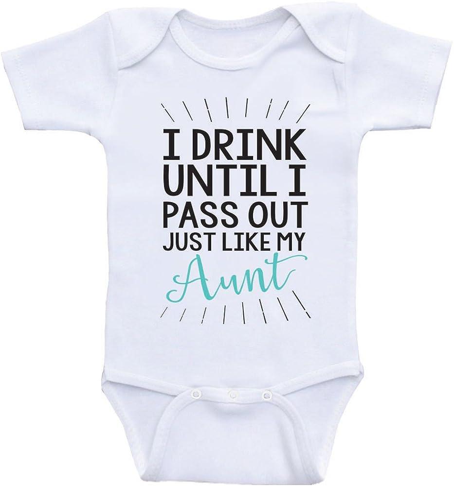CUTEDWARF I Cant Hold My Liquor Baby Newborn Cotton Short-Sleeve Onesies Bodysuit Jumpsuit