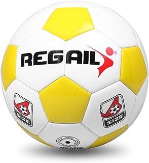 Explopur Soccer Ball,Official Size 4 Standard Soccer Ball PU Soccer Ball Training Balls Football