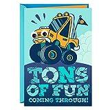Hallmark Birthday Greeting Card for Kids (Monster Truck Sticker) - 0399RZB1230