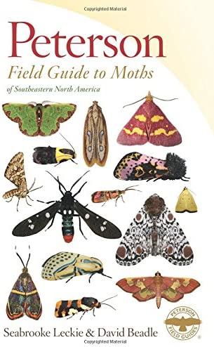 Peterson Field Guide to Moths of Southeastern North America Peterson Field Guides product image