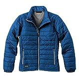 DRI Duck Women's 9408 Belay Puffer Jacket, Tech Blue, Medium