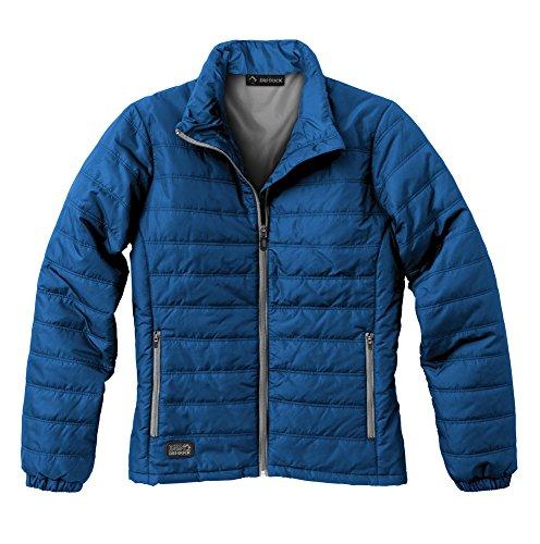 DRI Duck Women's 9408 Belay Puffer Jacket, Tech Blue, XX-Large
