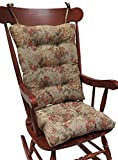 Klear Vu The Gripper Non-Slip Somerset Tapestry Jumbo Rocking Chair Cushions