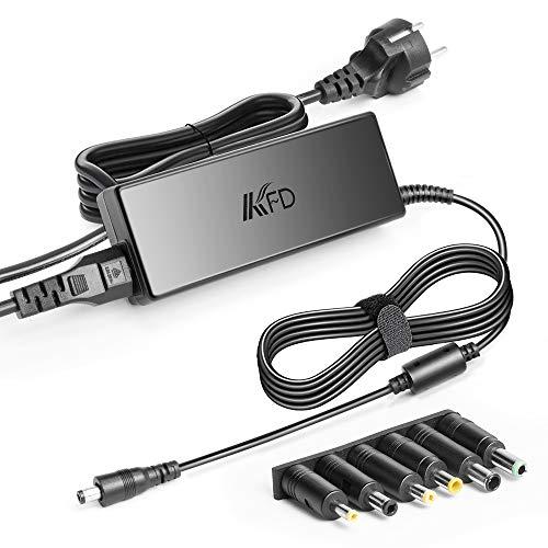 KFD Universal Netzteil 48V 1,88A Netzadapter Ladegerät für PoE Injektor LED-Streifen Licht CCTV LED Display Schaltnetzteil 48 Volt mit 6 Stecker 5,5x2,5mm 4,0x1,7 4,8x1,7 6,5x4,4mm 6,5x3,0mm 5,5x3,0mm