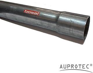 40 cm Universal Auspuffrohr Ø 55 mm einseitig aufgeweitet Abgasrohr Rohr Abgasanlage Pkw   Lkw
