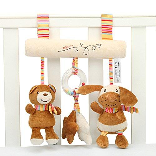 SKK BABY Juguete musical de la actividad de la barra del cochecito para los niños pequeños