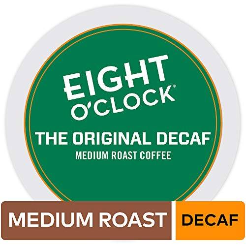 Eight O'Clock Coffee The Original Decaf, Single-Serve Coffee K-Cup Pods, Medium Roast, 72 Count