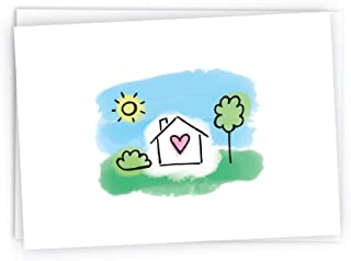 Home Sweet Home Change of Address Greeting Card - 24 Cards & Envelopes