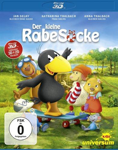Der kleine Rabe Socke [3D Blu-ray]