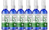 Brittanie's Thyme Organic Travel Hand Sanitizer Spray, 2 oz 6 Pack Rosemary & Peppermint