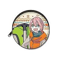 ゆるキャン△ まるっとレザーケース Ver.3 デザイン05(志摩リン/B)