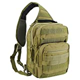 Tactical Sling Bag Military Rover Shoulder Sling Backpack Small EDC Molle Assault Crossbody Bags Pack